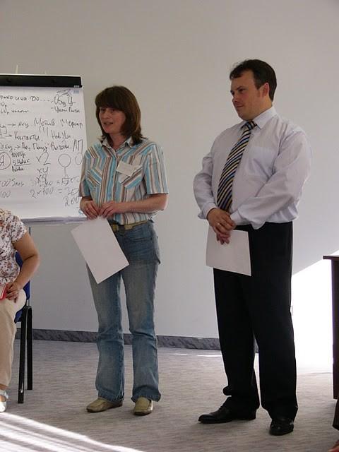 Даниэль Дюкина и Денис Кравченко