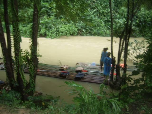 Бамбуковые плоты