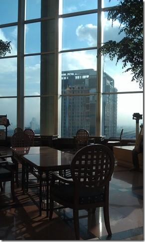Baiyoke Sky Hotel - ресепшн на 18 этаже