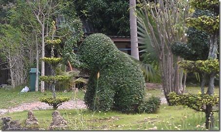 Ко Чанг - слоники в отеле
