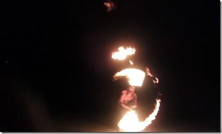 Ко Чанг - fire-шоу в 8 вечера