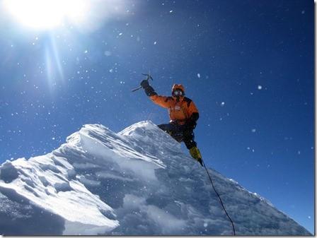 Denis on the summit