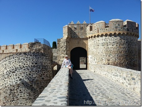 Испания, замок Сен-Мигель, Альмуньекар