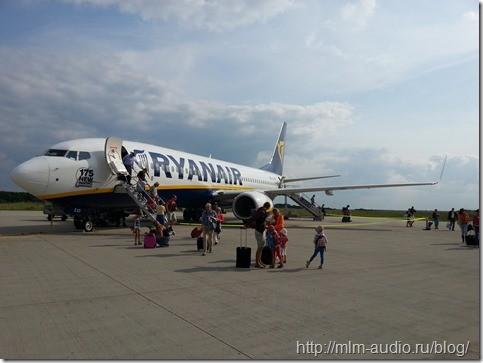 RYANAIR - бюджетный авиаперевозчик