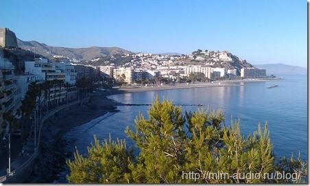 Холодное Средиземное море:)